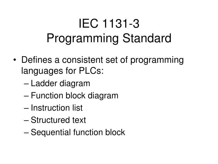 IEC 1131-3