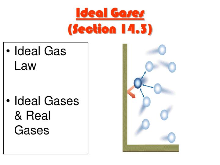 Ideal Gases