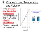 ii charles s law temperature and volume