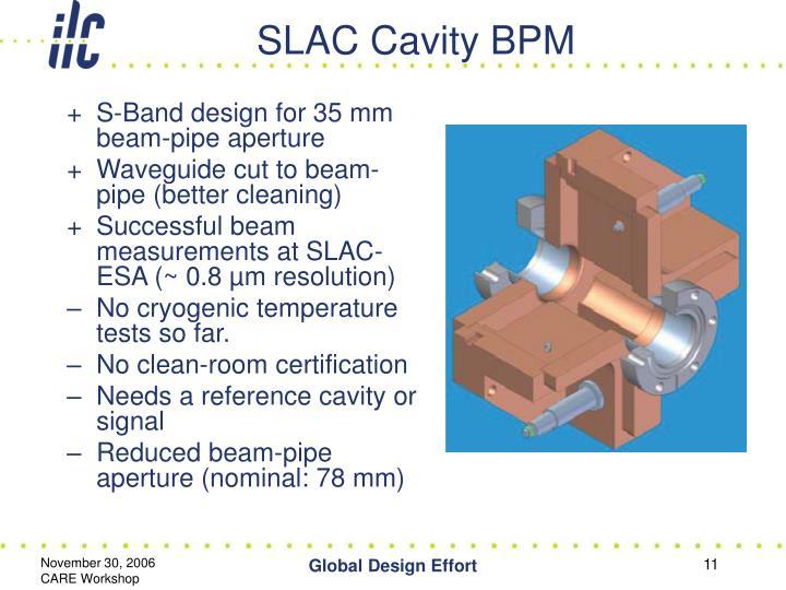 SLAC Cavity BPM