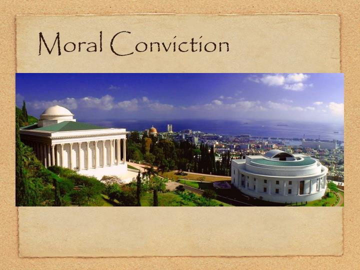 Moral Conviction