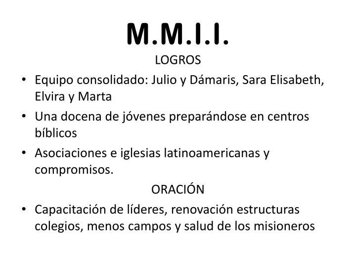 M.M.I.I.