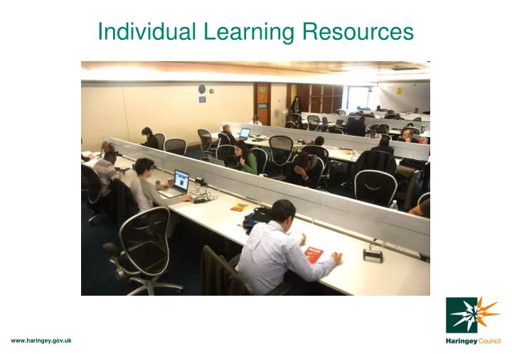 Individual Learning Resources
