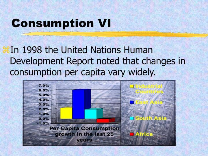 Consumption VI