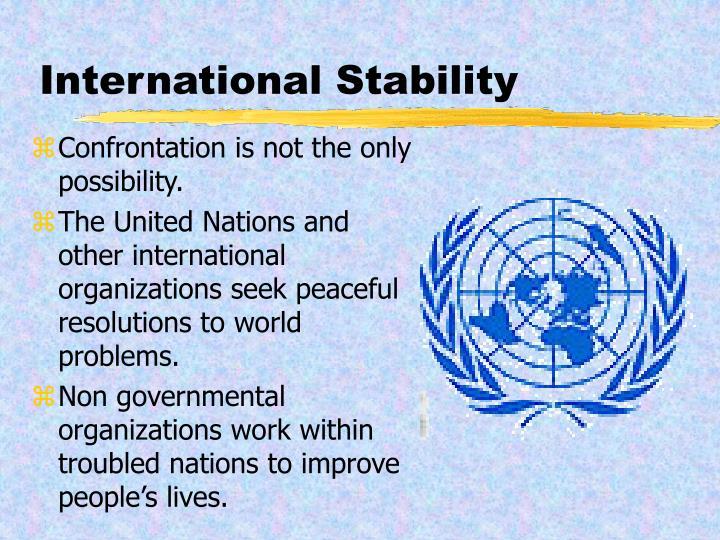 International Stability