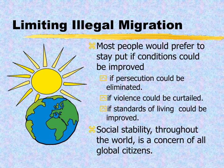 Limiting Illegal Migration