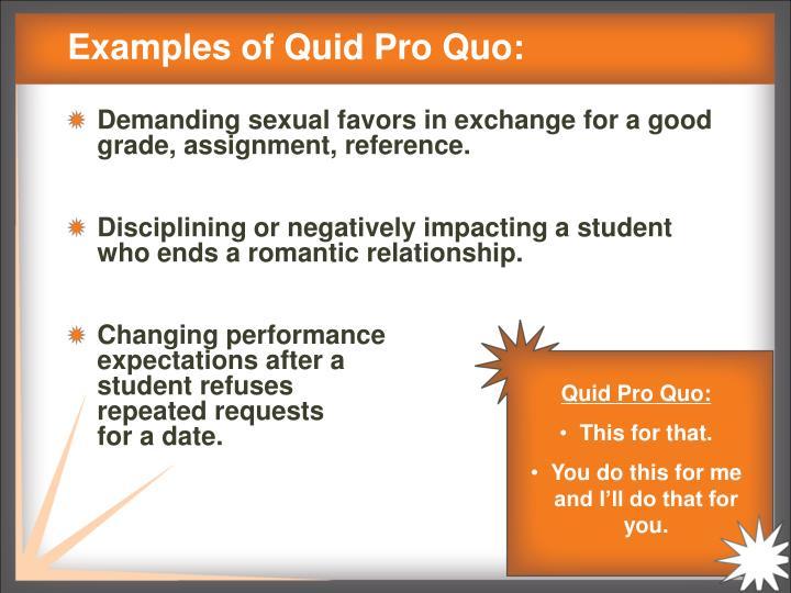 Quid pro quo sexual harassment definition images 26