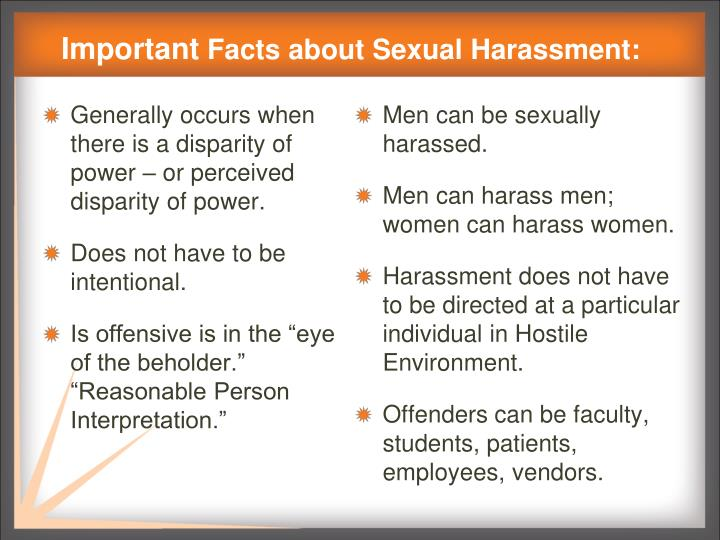 Sexual Assault Sexual Harassment & Rape Prevention