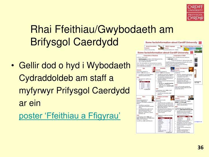 Rhai Ffeithiau/Gwybodaeth am Brifysgol Caerdydd