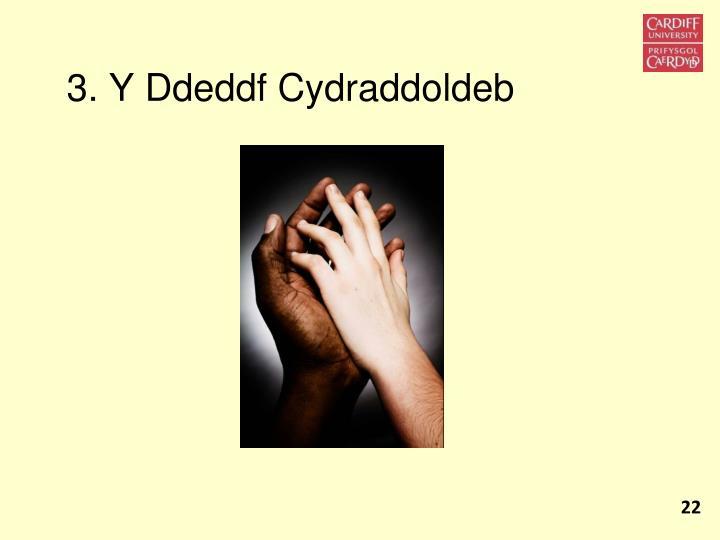 3. Y Ddeddf Cydraddoldeb
