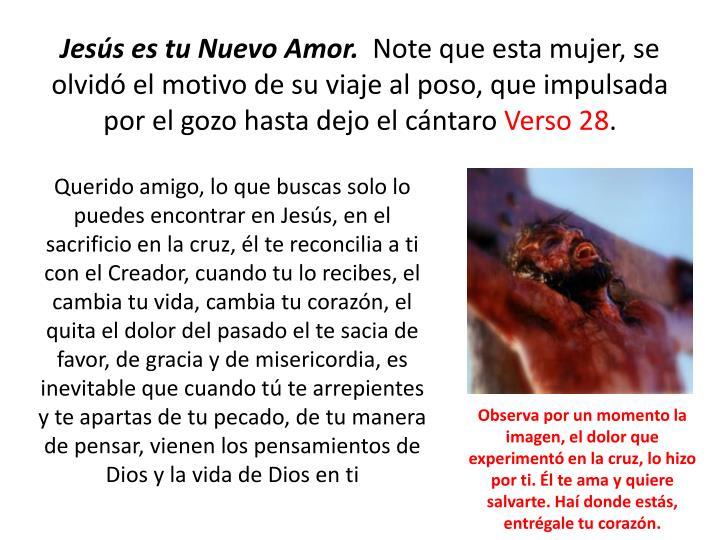 Jesús es tu Nuevo