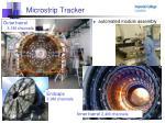 microstrip tracker
