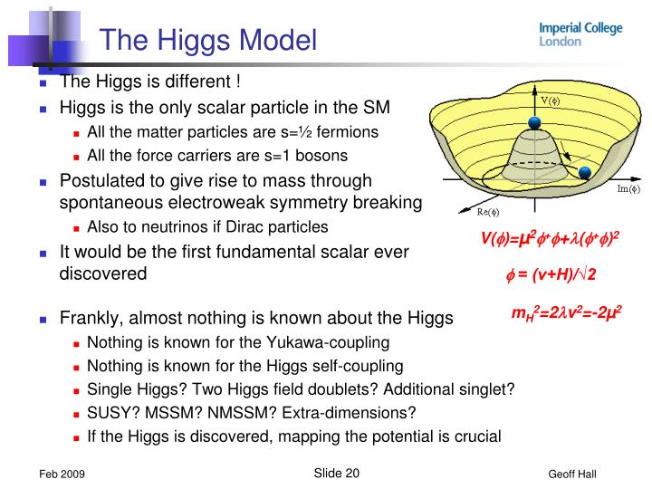 The Higgs Model