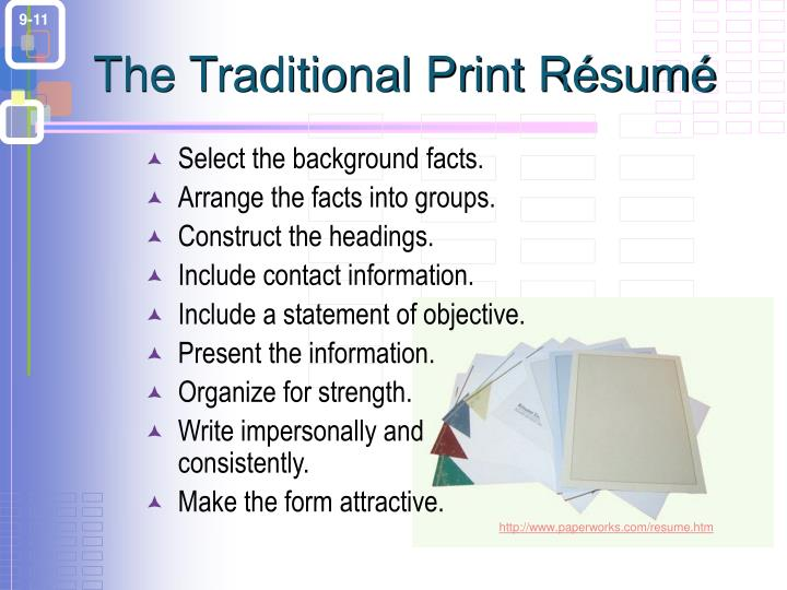 The Traditional Print R