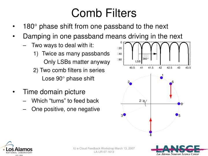 Comb Filters
