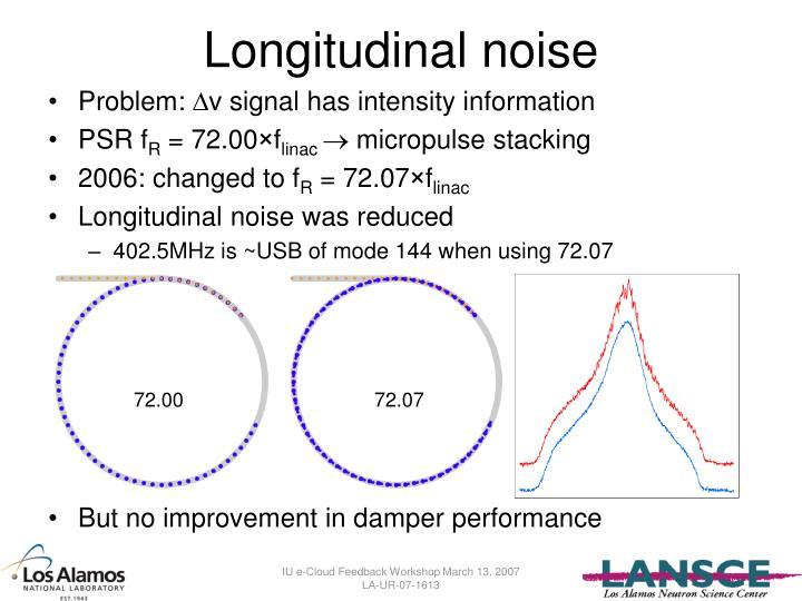 Longitudinal noise