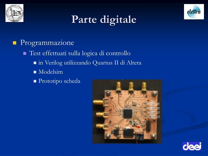 Parte digitale