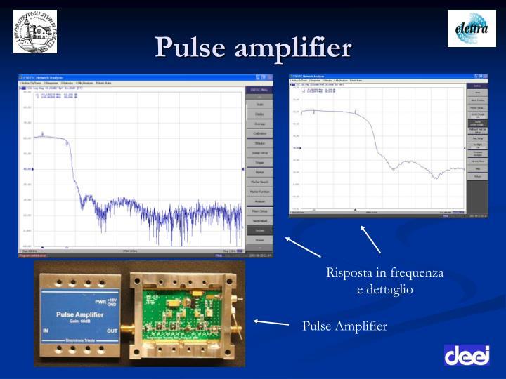 Pulse amplifier