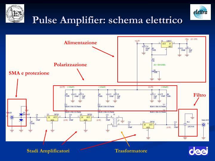 Pulse Amplifier: schema elettrico