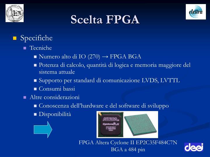 Scelta FPGA