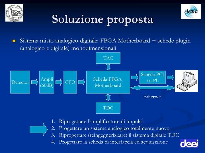 Soluzione proposta