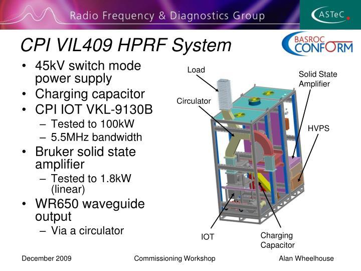 CPI VIL409 HPRF System