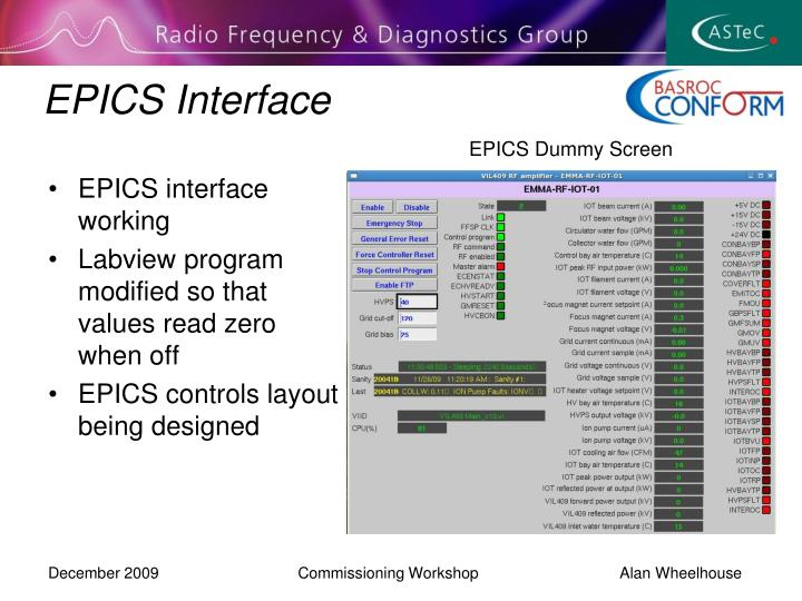 EPICS Interface