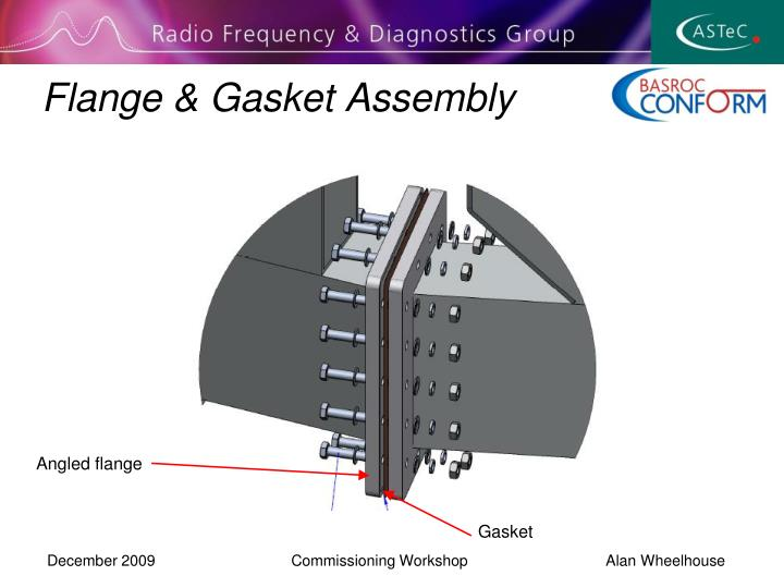 Flange & Gasket Assembly