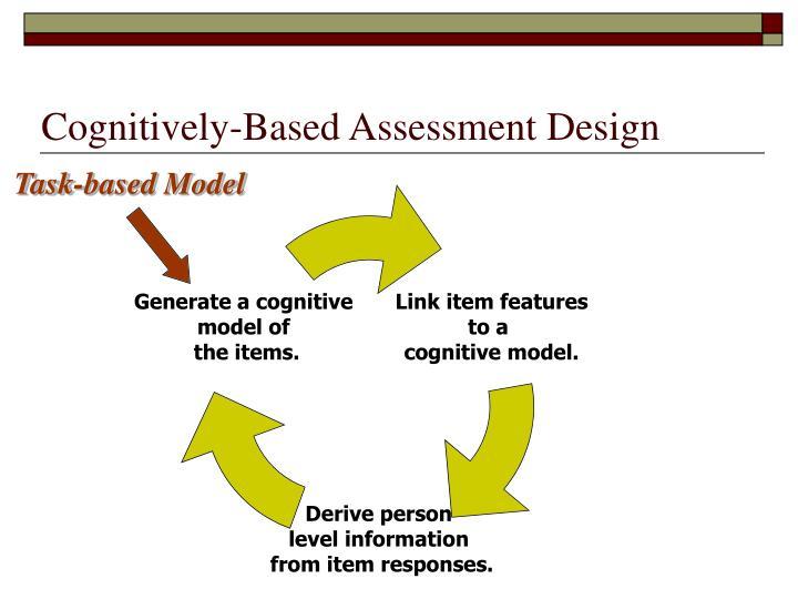 Cognitively-Based Assessment Design