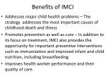 benefits of imci