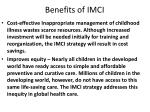 benefits of imci2