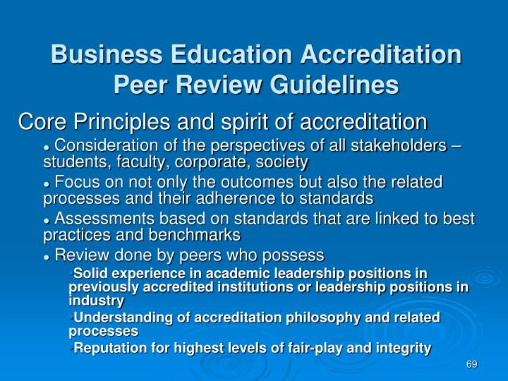 Business Education Accreditation