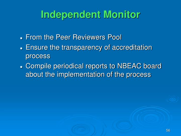 Independent Monitor