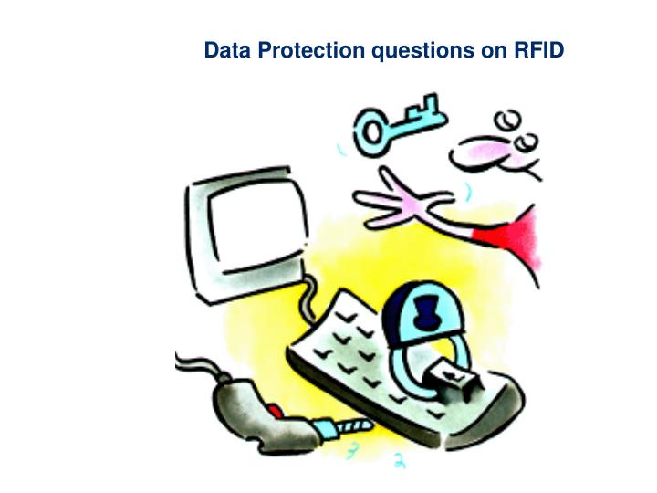 Data Protection questions on RFID