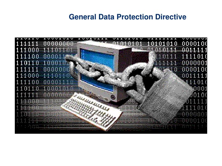 General Data Protection Directive