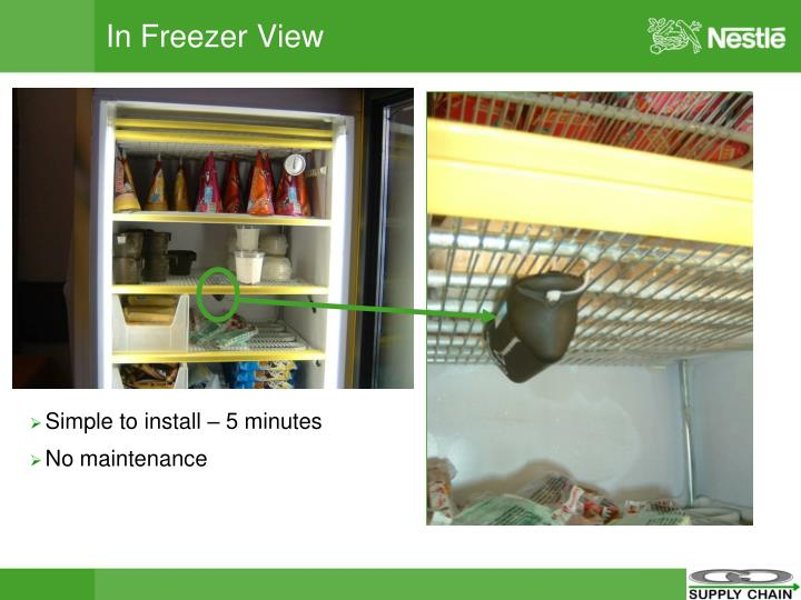 In Freezer View