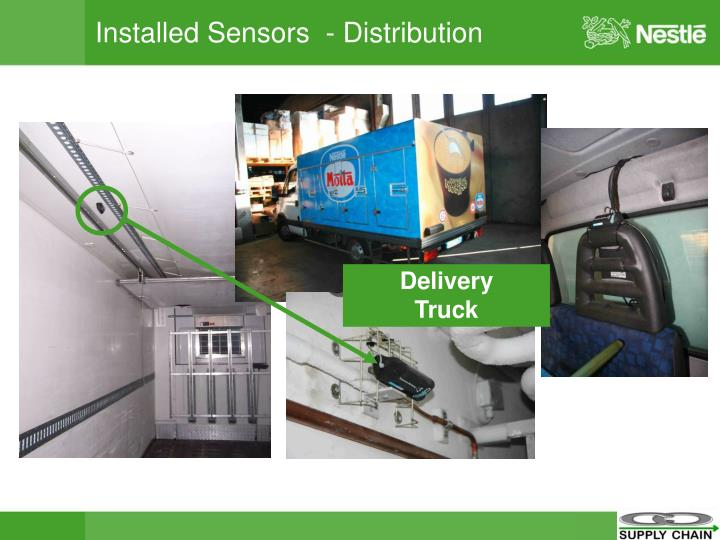 Installed Sensors  - Distribution