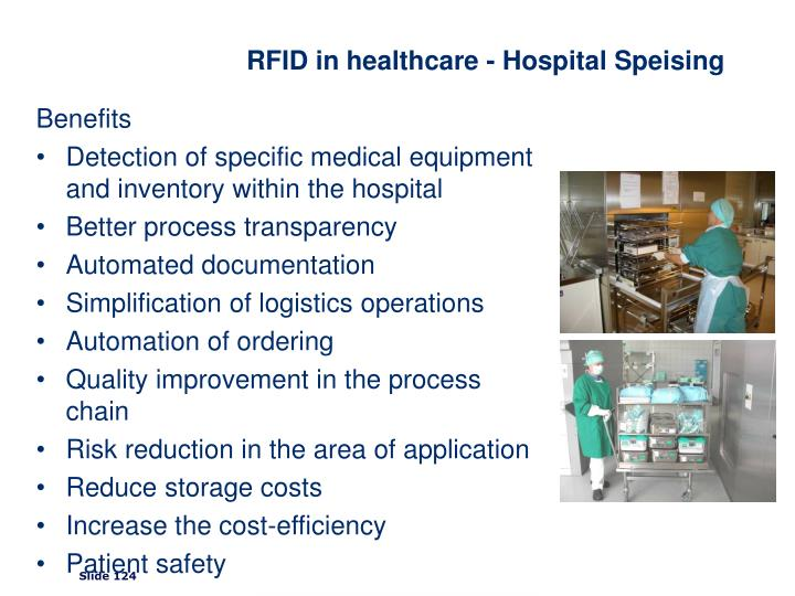 RFID in healthcare - Hospital Speising