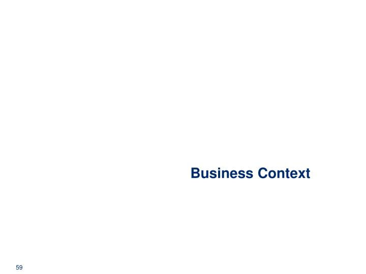 Business Context