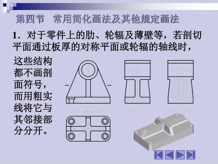 第四节   常用简化画法及其他规定画法