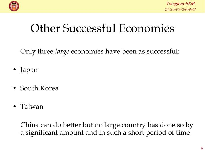 Other Successful Economies