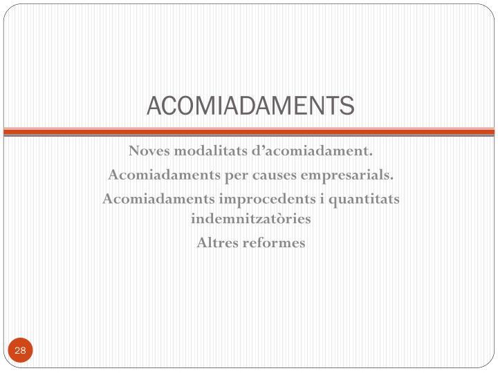 ACOMIADAMENTS