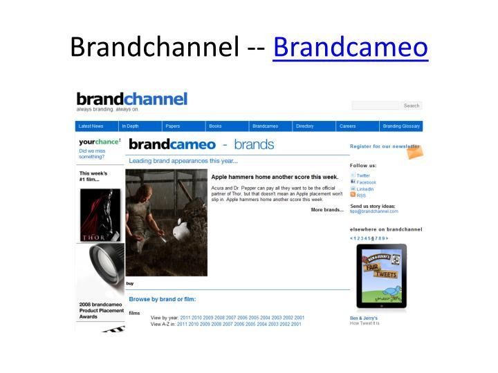 Brandchannel --