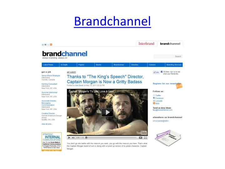 Brandchannel