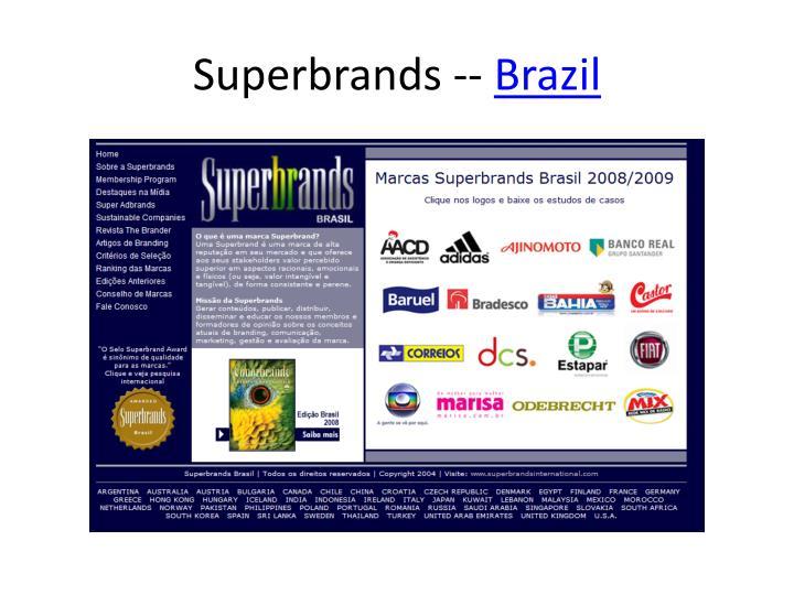 Superbrands --