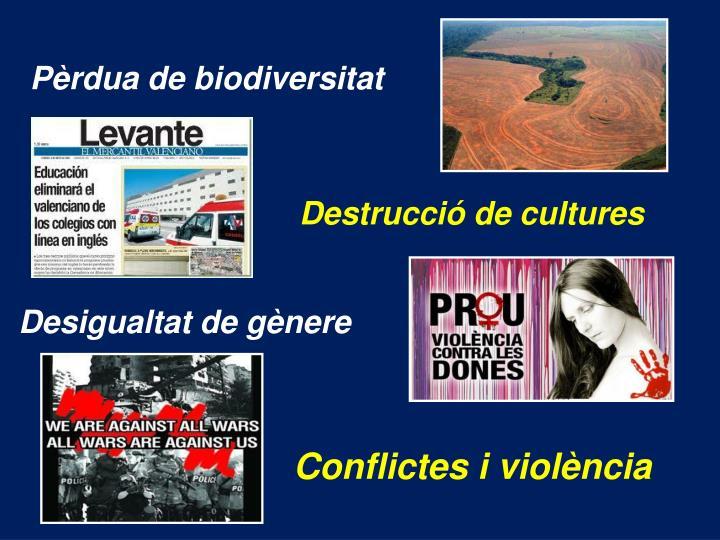 Pèrdua de biodiversitat