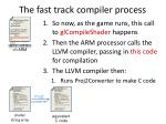 the fast track compiler process3