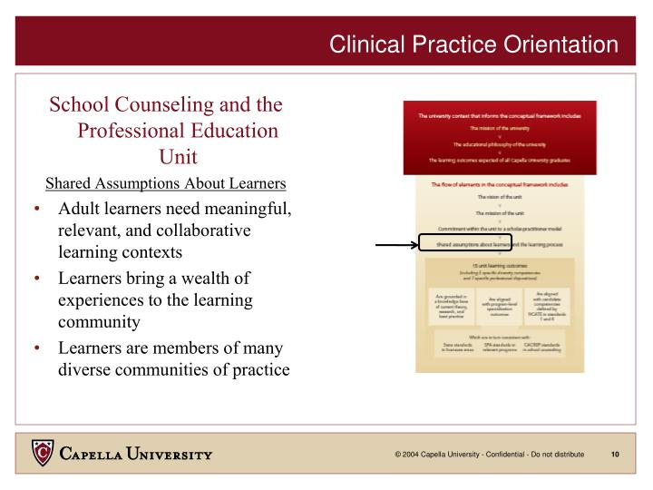 Clinical Practice Orientation
