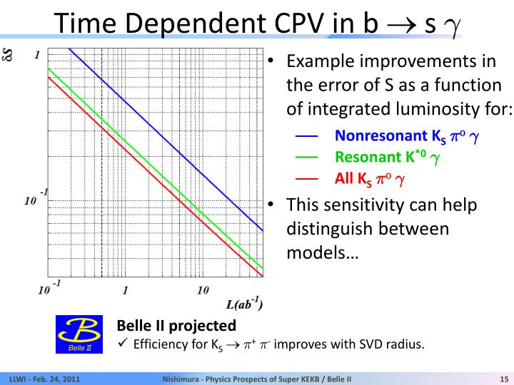 Time Dependent CPV in b