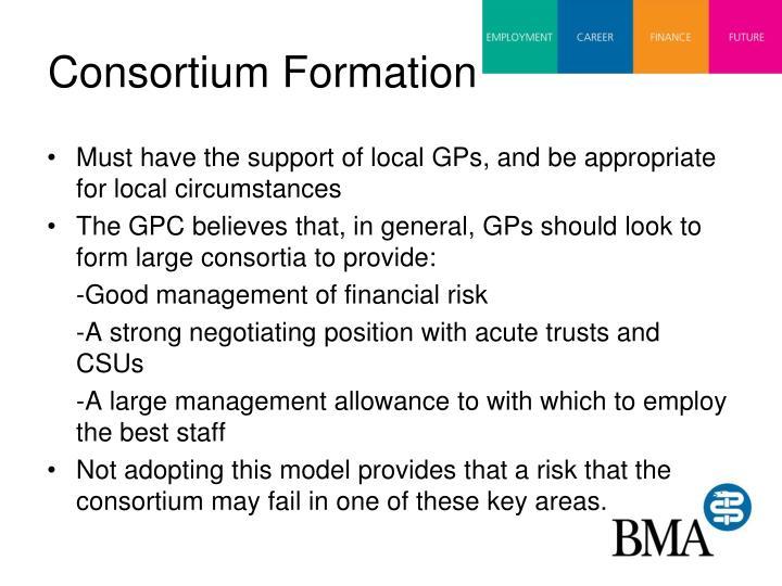 Consortium Formation